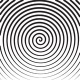Concentric circles halftone background stock illustration