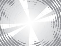 Concentric circles halftone background. Concentric Circles Halftone Engraving Black and White Striped Texture. Lined Gradient Template for Design, Background royalty free illustration