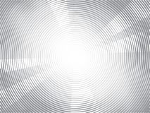 Concentric circles halftone background. Concentric Circles Halftone Engraving Black and White Striped Texture. Lined Gradient Template for Design, Background vector illustration