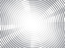 Concentric circles halftone background royalty free illustration