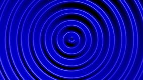 Concentric circles with hypnotic effect stock footage