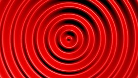 Concentric circles with hypnotic effect. Colored water resonance background pattern stock illustration