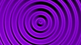 Concentric circles with hypnotic effect stock video footage