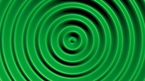 Concentric circles with hypnotic effect. Colored water resonance background pattern vector illustration