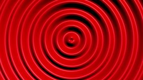 Concentric circles with hypnotic effect stock video