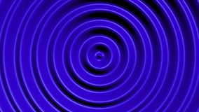 Concentric circles with hypnotic effect. Colored water resonance background pattern royalty free illustration
