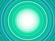 Concentric Circles Pattern, Green. Abstract Colorful Concentric Circles Pattern, Vector Design vector illustration