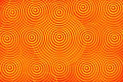 Red and yellow concentric circles Royalty Free Stock Photography