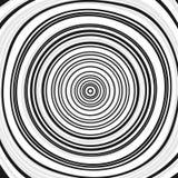 Concentric circles, rings. Abstract geometric illustration with. Random, irregular circles. - Royalty free vector illustration royalty free illustration