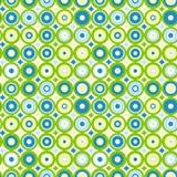 Concentric circles seamless background. Concentric retro circles Stock Photos