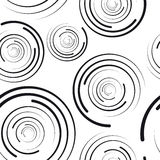 Concentric circles seamless pattern. Design element vector illustration royalty free illustration