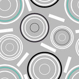 Concentric circles seamless pattern. Vector Illustration. Concentric circles seamless pattern. design element illustration stock illustration
