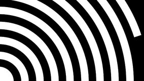 Concentric circles stock footage
