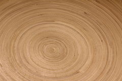 Concentric circles wood grain Stock Image