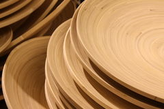 Concentric circles wood grain Stock Photography