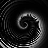 Concentric - converging circles. Abstract vortex, spiraling grap. Hics. - Eps 10 Vector Illustration Royalty Free Stock Image