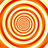 Concentric - converging circles. Abstract vortex, spiraling graphics. Eps 10 Vector Illustration stock illustration