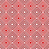 Concentric diamonds geometric pattern seamless Stock Photography