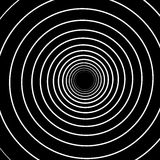 Concentric Lines. Spiral Background. Volute Hypnosis Circular Royalty Free Stock Photography
