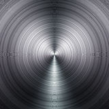 Concentric metal Royalty Free Stock Photography