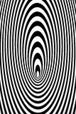 Concentric ovals Stock Images