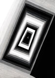 Concentric rectangular ornament Stock Photography