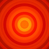 Concentric Red And Orange Circles Background. 2D rendered image with concentric red and orange circles Royalty Free Stock Photo