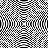Concentric rings, circles circular geometric pattern. Abstract m. Onochrome texture / pattern vector illustration