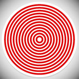 Concentric rings, circles pattern. Circles background pattern. Royalty free vector illustration stock illustration