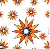 Concentric round seamles repeatable pattern Stock Image