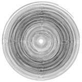 Concentrisch het patroon abstract zwart-wit element van ringencirkels, de vector van de draaikolkdraaikolk stock illustratie