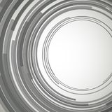 Concentrisch vectorcirkels abstract element Royalty-vrije Stock Fotografie