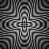 Concentrische cirkels Vector illustratie Abstracte concentrische cirkelstextuur vector illustratie