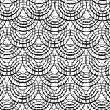 Concentrische zwarte ringen vector illustratie