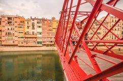 Concepção arquitetónica industrial de Nouveau em Catalonia - não somente Barcelona fotos de stock royalty free