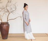 Concepção artística de Zen Meditation-The do chá do zen foto de stock royalty free