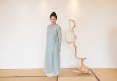 Concepção artística de Zen Meditation-The do chá do zen fotografia de stock
