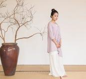 Concepção artística de Zen Meditation-The do chá do zen imagem de stock royalty free