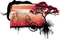 Concepção do savana Imagem de Stock