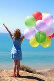 Concep das férias de verão, da celebração, da família, das crianças e dos povos Imagens de Stock Royalty Free
