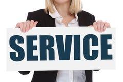 Concep di affari del contatto di assistenza di aiuto di sostegno di servizio di assistenza al cliente Fotografia Stock Libera da Diritti