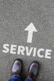 Concep do negócio do contato do auxílio da ajuda do apoio de serviço ao cliente Imagens de Stock Royalty Free