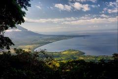 concepcion ・尼加拉瓜火山 库存照片
