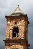 Concepcion Church Bell Tower Zipaquira Colombia Stock Photo