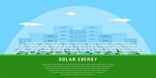 Concept à énergie solaire Photographie stock