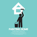 Concept à la maison de peinture Photos stock