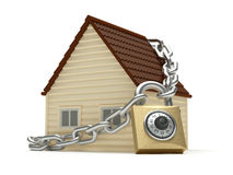 Concept à la maison de protection Photos libres de droits