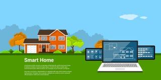 Concept à la maison futé Image stock