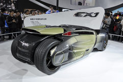 Concept électrique pur de Peugeot EX1 Photos stock