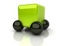 Concept 2 van de auto Vector Illustratie
